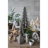 クリスマス エルツ シャビーシックLEDウッドキャンドルツリー クリスマス オーナメント led 飾り クリスマス 置物 オブジェ