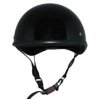 ZK-100 ダックテール(ブラック)ゴーグルバンド装備 SG公認 PSC認可! 125cc以下対応 盗難防止金属ホルダー 新基準強化バックル採用