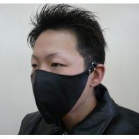 材質 牛革 メンズ用牛革フェイスマスク   製品特徴  ※調整が可能なゴムヒモ仕様 ※本革を使用した...