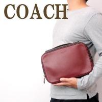 コーチ COACH バッグ メンズ セカンドバッグ クラッチバッグ 財布 セカンドポーチ レザー 39806QBCRD