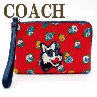 コーチ COACH ポーチ ハンドポーチ リストレット スマホケース iPhone6/6s 7/7s...