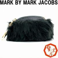 【商品】MARC BY MARC JACOBS マークジェイコブス ポーチ 小物ケース フェイクファ...