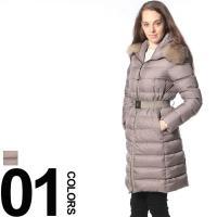 ダウン90%を含んでいるので冬には欠かせない保温性抜群のロング丈コートです。ボリューミーなファー付き...