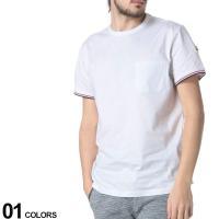 しっかりとした綿100%の生地を使用した半袖Tシャツです。袖口にあしらったブランドロゴワッペンがポイ...