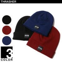 THRASHERのワンポイントニット帽です。元々はサンフランシスコで創刊したスケーターのためのマガジ...