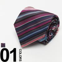 アニマルモチーフの総柄デザインが魅力的なシルクネクタイです。細やかなイラストに視線を奪われます。ベー...
