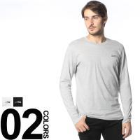 ワンポイントでロゴが入ったクルーネック長袖アンダーTシャツです。素材に綿を100%使用しているので肌...