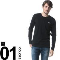 胸元のブランドロゴプリントが特徴的な長袖Tシャツです。素材は綿を100%使用しているので着心地も快適...