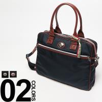 ナイロンとレザーのコンビデザインが魅力的な「オロビアンコ」のブリーフバッグです。ワンポイントのロゴプ...