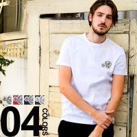 モンクレール MONCLER Tシャツ 半袖 ワッペン ブランド メンズ MC80325008390Y Tshirts