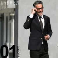 ラルフローレン ジャケット 紺ブレザー メンズ LE-2NX0001 素材:ウール100% 仕様:フ...