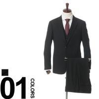 細やかなチェック柄のスリーピーススーツ。落ち着いたカラーの合わせるアイテムを選ばない1着です。すっき...