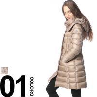 冬には欠かせないロング丈のダウンコートです。しっかりと防寒性がありつつも、ポケットやワッペンなどのデ...