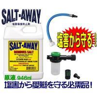 塩の分子を取り囲み、塩の再結晶を防ぐ!! 塩害腐食防止剤 ●塩分に直接働きかけ、塩の堆積や腐食、汚...