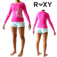 ■ブランド:ROXY(ロキシー) ■モデル:SUN SET ■タイプ:女性用長袖ラッシュガード ■素...