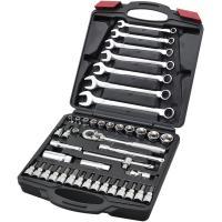 【仕様】43ピースセット 【商品説明】インチサイズに必要な基本的工具のセット。 ●ハーレーダビッドソ...