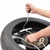 【適合】汎用 【商品説明】ストレートタイプのタイヤレバーでは困難だった作業を解消 ●幅広タイヤに使い...