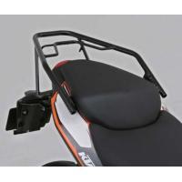 【適合車種】KTM DUKE125/200 【商品説明】本体スチール製。 ●ブラックツヤあり塗装 ●...
