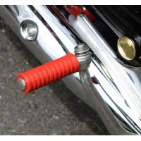 【適合車種】CD90(ベンリイ)12V 【商品説明】純正と差し替えるだけの簡単装着。車体に映える赤。