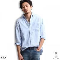 カジュアルシャツ メンズ  オリジナルブランド【ZIP FIVE】より、ビッグシルエットを採用しトレ...