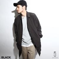 ステンカラーコート メンズ  オリジナルブランド【ZIP FIVE】より、スタイリングを上品に見せる...