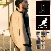 ジャケット メンズ アウター ボア フリース ブルゾン もこもこ ふわふわ 刺繍 ワンポイント アウトドア カンゴール KANGOL ファッション (kgaf-0006)