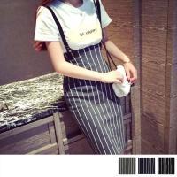 【商品詳細】 レディース用タイトスカートです♪  サスペンダー付きでオシャレ!  カジュアルシーンに...