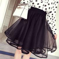 レディース用フレアスカートです♪ オーガンジー素材で華やかさ満点のスカート☆ 程良い丈感で着まわしや...