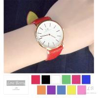 レディース用腕時計です☆ Love Berryオリジナルの腕時計となっています♪ 文字盤のゴールド枠...