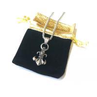 闇金 ウシジマ 君 着用 ユリの紋章ネックレス ベロア生地 ポーチ セット フランスでは王家を象徴す...