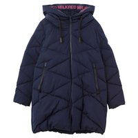 QUILTED LONG COAT