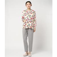 「plune.(プルーン)」木の実とリーフのコントラストが、かわいいデザインのパジャマ(S-LLサイズ)