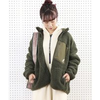 【WEB限定】KANGOL/カンゴール 別注ボアフリースジャケット