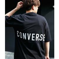 tシャツ Tシャツ 【BASQUE -enthusiastic design-】別注 コンバースBIG半袖カットソー/背面BIGロゴ