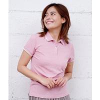 ポロシャツ [GIORDANO]ベーシックラインポロシャツ