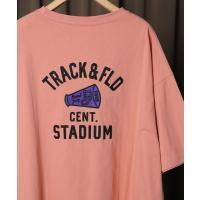 tシャツ Tシャツ WEB限定 PENNEYS×FREAK'S STORE/ペニーズ 別注 カレッジロゴ バック刺繍 クルーネックTシャツ/ワンポイン