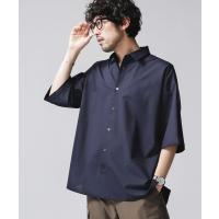 シャツ ブラウス SOLOTEX TW BIGシャツ半袖