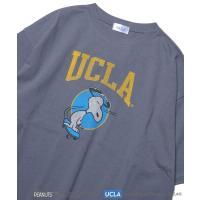 tシャツ Tシャツ WEB限定 UCLA×PEANUTS 別注 SKATE プリントTシャツ/ビッグシルエット