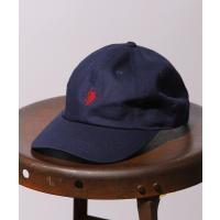 帽子 キャップ WEB限定 U.S. POLO ASSN.×FREAK'S STORE/ユーエスポロアッスン 別注 ワンポイントロゴ ベースボールキャ