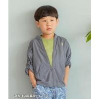 アウター 【coen キッズ/ジュニア】UVカット機能付きスタンドカラージップアップジャケット