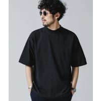tシャツ Tシャツ 30/3コンパクトコットンハーフモックTシャツ
