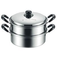 蒸し料理も鍋料理もおまかせ!   大ボリュームの2層鍋!鍋料理はもちろん、蒸し器としても冬場の食卓で...