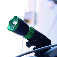 ハイパワー3W自転車用LEDライト (サイクル ハンディライト)  [サイズ]  <ライト部>   ...