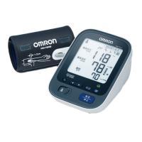 ◆測定状態や結果をわかりやすく伝える「お知らせディスプレイ」 ◆血圧の週平均値をグラフ表示「血圧値ト...