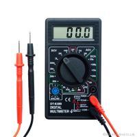 電流をチェック☆一家に一台!手のひらサイズでコンパクト ●3-1/2ディジタル表示のマルチメーターで...