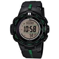 カシオ プロトレック トリプルセンサー ソーラー メンズ 腕時計PRW-S3100-1です。  方位...