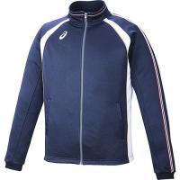 アシックス メンズ トレーニングジャケット XAT148 50