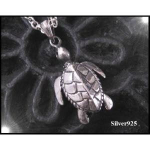 亀のペンダント/動物 シルバー925(メイン)|0001pppcom