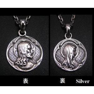 マリア&キリストコイン シルバー925(メイン)ペンダント|0001pppcom