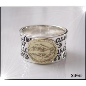 マリアの指輪(3)SV+G15号・16号・17号・18号・19号・20号・21号・22号・23号・25号/シルバー(メイン)|0001pppcom